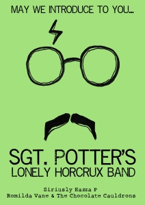 Sgt. Potter Poster Green