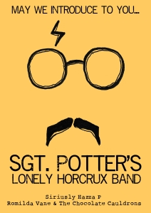 Sgt. Potter Poster Yellow